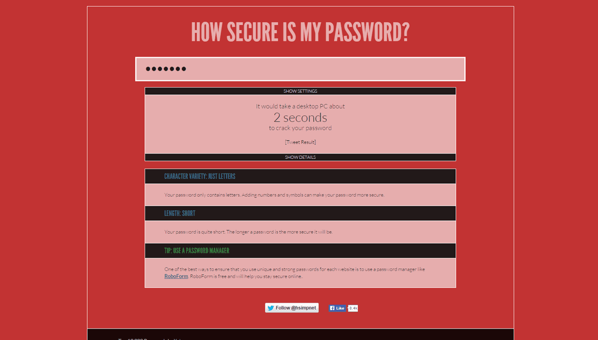 accounts Password Security