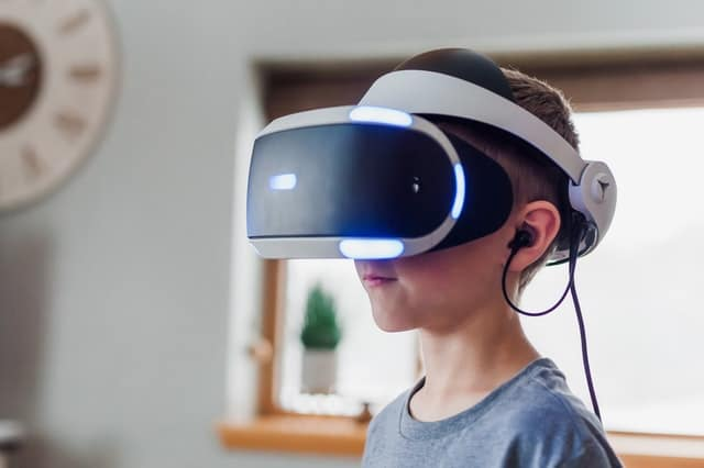 Boy with VR