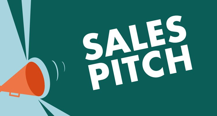 Why is sales pitch so important for the growth of the business?