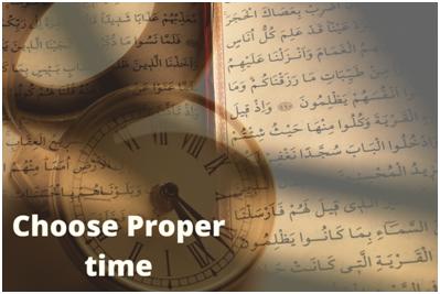 Choose Proper Time