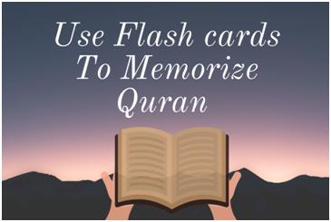 Use flash cards