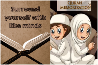 Surround yourself with like minds
