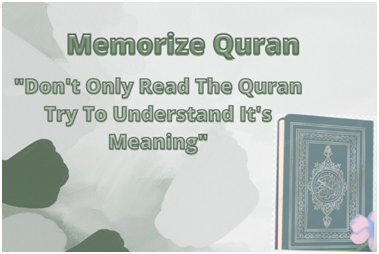 Memorize with the meaning